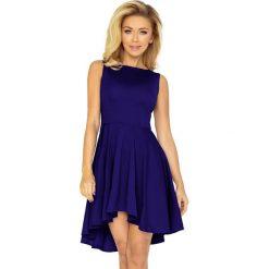 Sukienki: Elvira Ekskluzywna sukienka z dłuższym tyłem – CHABER