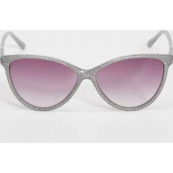 Okulary przeciwsłoneczne damskie: Okulary przeciwsłoneczne – Jasny szar