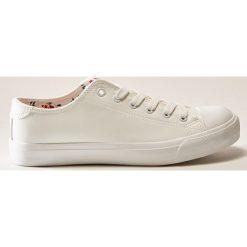 Trampki - Biały. Białe tenisówki damskie House. Za 69,99 zł.