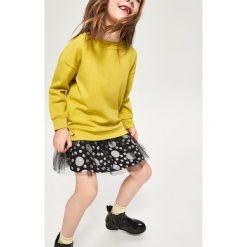 Spódnica w kropki - Czarny. Czarne spódniczki dziewczęce Reserved, w kropki. W wyprzedaży za 29,99 zł.