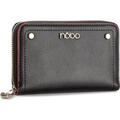 Duży Portfel Damski NOBO - NPUR-D1050-C020 Czarny. Czarne portfele damskie Nobo, ze skóry ekologicznej. W wyprzedaży za 79,00 zł.