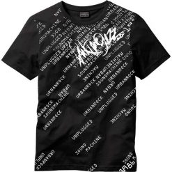 T-shirty męskie z nadrukiem: T-shirt Slim Fit bonprix czarny