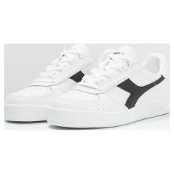 Diadora B.ELITE Tenisówki i Trampki white/black. Białe tenisówki damskie Diadora, z materiału. Za 379,00 zł.