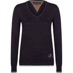 """Swetry klasyczne damskie: Sweter """"Shot"""" w kolorze czarnym"""