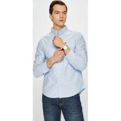 Brave Soul - Koszula. Szare koszule męskie na spinki marki S.Oliver, l, z bawełny, z włoskim kołnierzykiem, z długim rękawem. Za 79,90 zł.