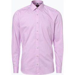 Olymp Level Five - Koszula męska łatwa w prasowaniu, różowy. Niebieskie koszule męskie marki OLYMP Level Five, m, paisley, ze stójką. Za 199,95 zł.
