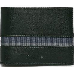 Calvin Klein - Portfel skórzany. Czarne portfele męskie marki Calvin Klein. Za 269,90 zł.