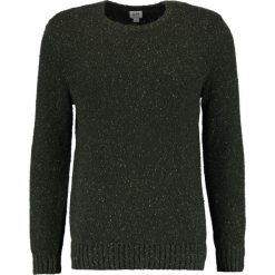 Swetry klasyczne męskie: GAP DONEGAL CREW NECK Sweter dark green heather