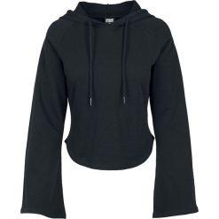 Bluzy rozpinane damskie: Urban Classics Ladies Tube Sleeve Hoody Bluza z kapturem damska czarny