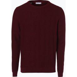 Swetry męskie: Selected – Sweter męski – Delan, czerwony