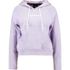 Bluzy damskie: GStar LAJLA Bluza z kapturem dark lilac