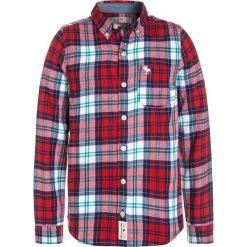 Abercrombie & Fitch COZY PLAID Koszula red. Czerwone koszule chłopięce Abercrombie & Fitch, z bawełny. W wyprzedaży za 135,20 zł.