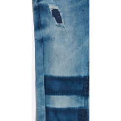 Tommy Hilfiger - Jeansy dziecięce 116-176 cm. Fioletowe jeansy dziewczęce marki OLAIAN, z elastanu, sportowe. W wyprzedaży za 169,90 zł.