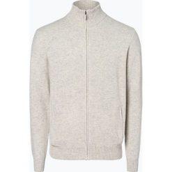 Mc Earl - Kardigan męski, beżowy. Brązowe swetry rozpinane męskie Mc Earl, l, z wełny. Za 179,95 zł.