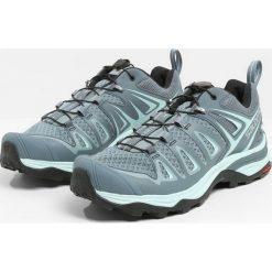 Salomon X ULTRA 3  Obuwie hikingowe lead/stormy weather/canal blue. Szare buty trekkingowe damskie Salomon, z materiału, outdoorowe. Za 549,00 zł.