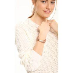 Swetry klasyczne damskie: SWETER DAMSKI AŻUROWY