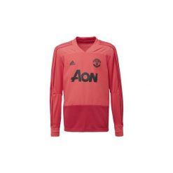 T-shirty z długim rękawem adidas  Bluza treningowa Manchester United. Czerwone bluzy męskie rozpinane marki KALENJI, m, z elastanu, z długim rękawem, długie. Za 269,00 zł.