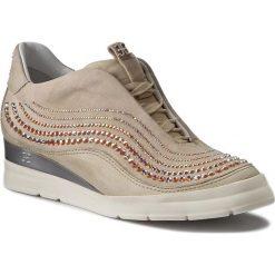Sneakersy FABI - FD3305H Travertine. Brązowe sneakersy damskie Fabi, ze skóry. W wyprzedaży za 979,00 zł.