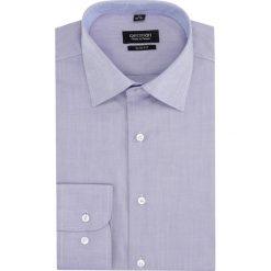 Koszula bexley 2846 długi rękaw slim fit fiolet. Szare koszule męskie slim marki Recman, na lato, l, w kratkę, button down, z krótkim rękawem. Za 139,00 zł.