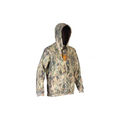 Bluza myśliwska WF500D. Brązowe bluzy męskie rozpinane marki Under Armour, m, z poliesteru. Za 149,99 zł.