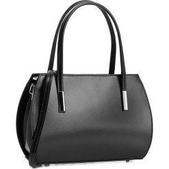 Torebka CREOLE - RBI10158 Czarny. Czarne torebki klasyczne damskie Creole, ze skóry, duże. W wyprzedaży za 189,00 zł.