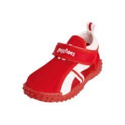 Playshoes  Boys Buty do wody Sportiv czerwony - niebieski. Niebieskie buciki niemowlęce Playshoes, z materiału. Za 59,00 zł.