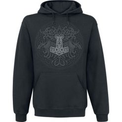 Bluzy męskie: Celtic Viking Shield Bluza z kapturem czarny