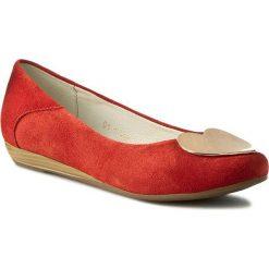 Baleriny SERGIO BARDI - Nadine FS127231117DP 108. Czerwone baleriny damskie lakierowane Sergio Bardi, ze skóry. W wyprzedaży za 149,00 zł.