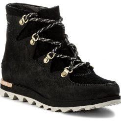 Botki SOREL - Sneakchic Alpine NL2775 Black. Czarne buty zimowe damskie Sorel, z gumy. W wyprzedaży za 359,00 zł.