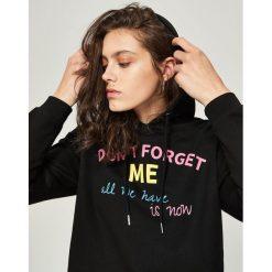 Bluza z kapturem - Czarny. Czarne bluzy z kapturem damskie marki DOMYOS, xl, z bawełny. Za 49,99 zł.