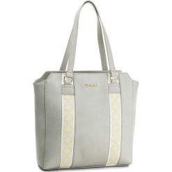 Torebka MONNARI - BAG4920-019 Grey. Brązowe torebki klasyczne damskie marki Monnari, w paski, z materiału, średnie. W wyprzedaży za 129,00 zł.