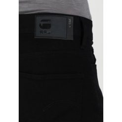 GStar 3301 DECONSTRUCTED SUPER SLIM Jeans Skinny Fit black. Czarne rurki męskie G-Star. Za 469,00 zł.