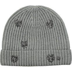 Barts - Czapka Venus Beanie heather grey. Brązowe czapki zimowe damskie marki Barts, na zimę, z dzianiny. W wyprzedaży za 89,90 zł.