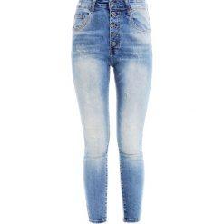 Spodnie - 95-330B JEANS. Niebieskie boyfriendy damskie Unisono. Za 99,00 zł.