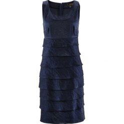 Sukienki hiszpanki: Sukienka bonprix ciemnoniebieski