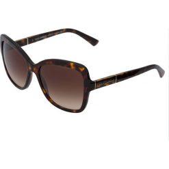 Okulary przeciwsłoneczne damskie aviatory: Dolce&Gabbana Okulary przeciwsłoneczne darkbrown