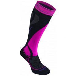 Bridgedale Skarpety Narciarskie Damskie Ski Midweight Women's Black/Fluro Pink/077 S. Czerwone skarpetki damskie marki Devold, z materiału. Za 99,00 zł.