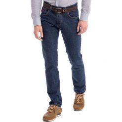 Jeansy męskie regular: Dżinsy w kolorze granatowym