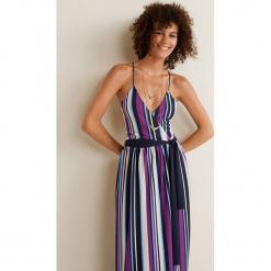Mango - Sukienka Aire. Szare sukienki na komunię Mango, na co dzień, l, z materiału, casualowe, na ramiączkach, midi, proste. Za 229,90 zł.