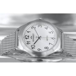 Zegarek Bisset Męski BSDE49 SASX 03BX Mesh srebrny. Szare zegarki męskie Bisset, srebrne. Za 348,99 zł.