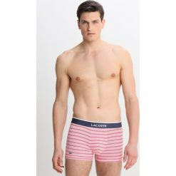 Lacoste TRUNK 2 PACK Panty red/white. Czarne bokserki męskie marki Lacoste, z dżerseju. Za 129,00 zł.