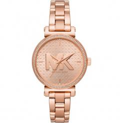 Zegarek MICHAEL KORS - Sofie MK4335 Rose Gold/Rose Gold. Czerwone zegarki damskie Michael Kors. Za 1299,00 zł.