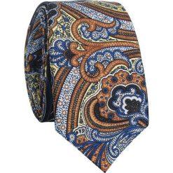 Jedwabny krawat KWWR007012. Szare krawaty męskie Giacomo Conti, z jedwabiu. Za 169,00 zł.