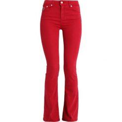 LOIS Jeans RAVAL LEA SOFT RAINBOW Jeansy Bootcut blood red. Niebieskie jeansy damskie bootcut marki bonprix. Za 459,00 zł.