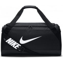 Nike Torba Sportowa Brasilia (Medium). Czarne torby podróżne Nike, duże. W wyprzedaży za 119,00 zł.