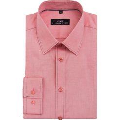 Koszula MICHELE 16-05-28. Czerwone koszule męskie jeansowe marki Giacomo Conti, m, z klasycznym kołnierzykiem, z długim rękawem. Za 229,00 zł.