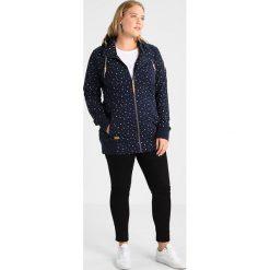 Bluzy rozpinane damskie: Ragwear Plus EVELEEN Bluza z kapturem navy