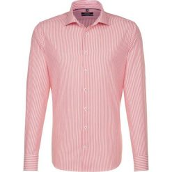 Koszule męskie na spinki: Koszula – Tailored – w kolorze pomarańczowo-białym