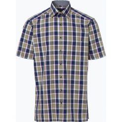 Koszule męskie na spinki: Andrew James – Koszula męska niewymagająca prasowania, zielony