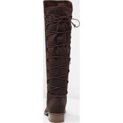 Anna Field Kozaki sznurowane dark brown. Brązowe buty zimowe damskie marki Anna Field. W wyprzedaży za 136,95 zł.